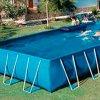Каркасный бассейн – прекрасный вариант для загородного участка