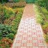 Тротуарная плитка для летнего сада