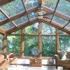 Прозрачная крыша - интересное решение