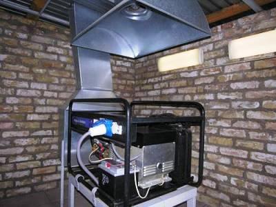 Автономная электростанция в частном доме.