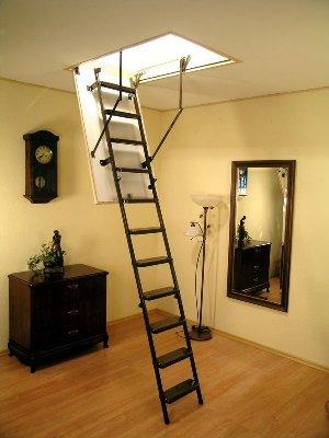 Раскладные чердачные лестницы