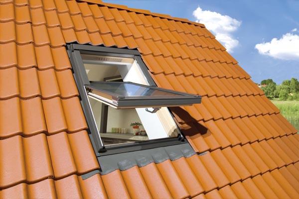 Окна на крыше фото