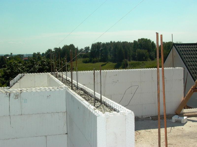 Монолитные стены своими руками фото
