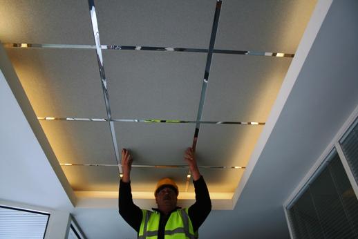 Как сделать независимый потолок