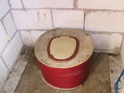 Конструкция седалища дачного туалета