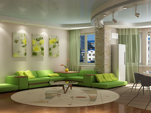 for Natural color living room ideas