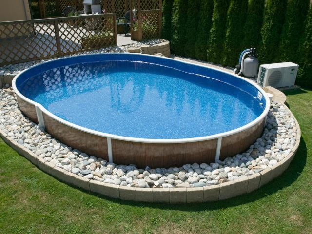 Баня с бассейном на даче своими руками