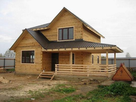 Построить дом своими руками из бруса недорого