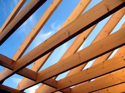 односкатная крыша своими руками.