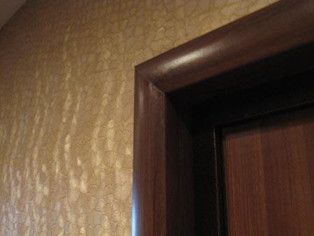 Откосы на входной двери своими руками