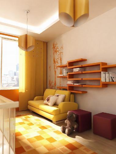Дизайн мебели в детской комнате
