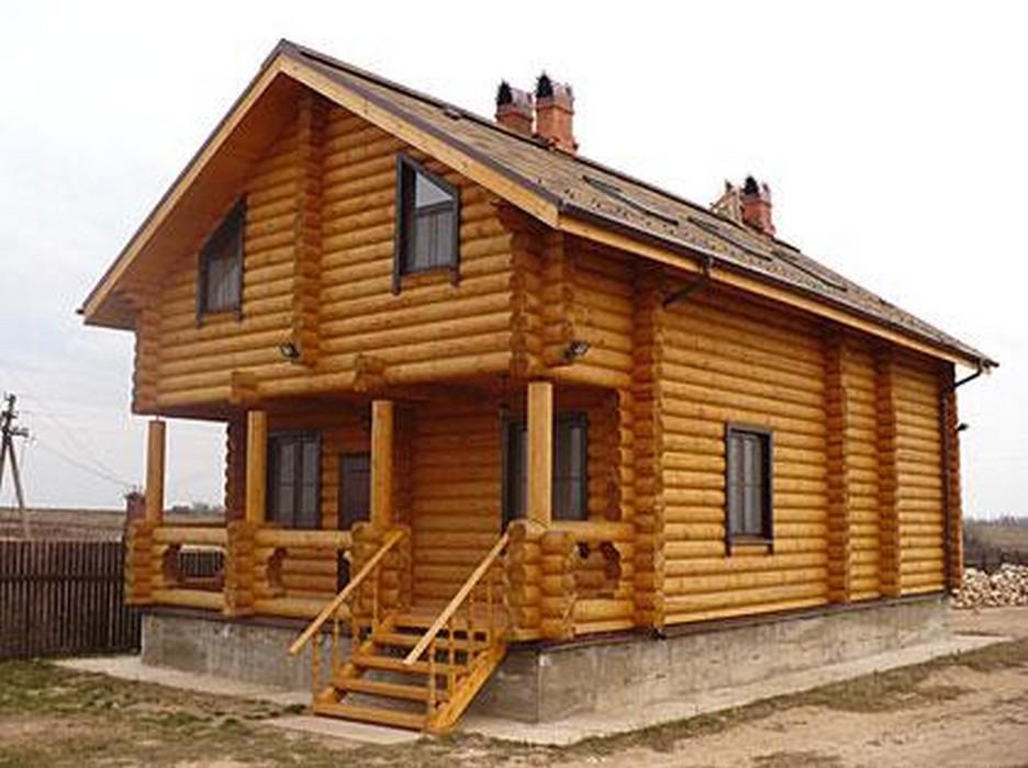 Дома из оцилиндрованного бревна в