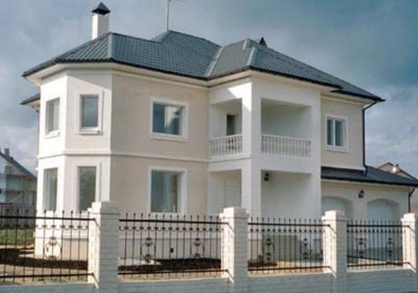 Типовые проекты домов из пеноблоков