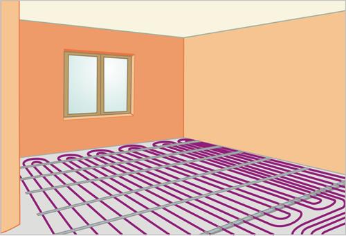 Как сделать теплый пол в комнате своими руками