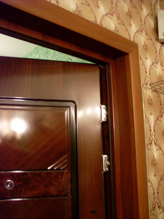 Облицовка двери