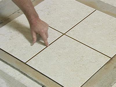 Как затереть керамическую плитку