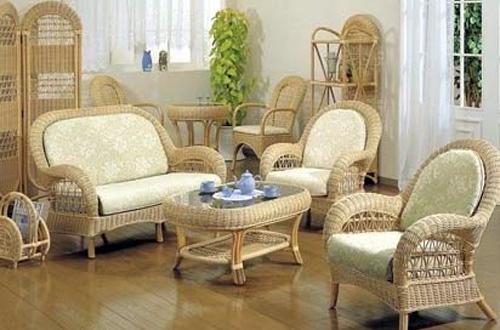 Экзотика в доме – мебель из ротанга