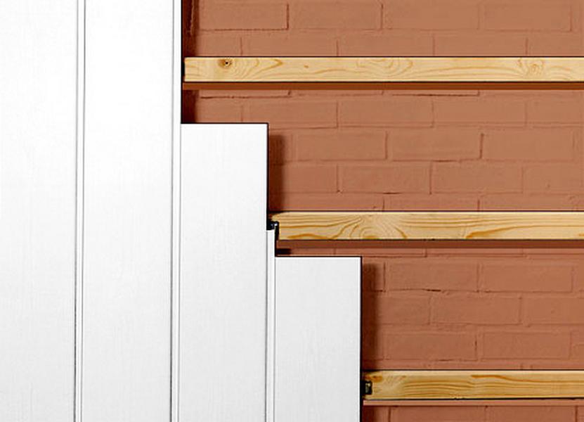 Как монтироваться стеновые панели из ПВХ.  Отделка помещений стеновыми панелями не предусматривает предварительной...