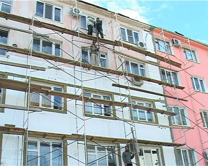 Покраска фасада деревянного дома цена