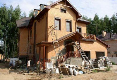 строительство коттеджей