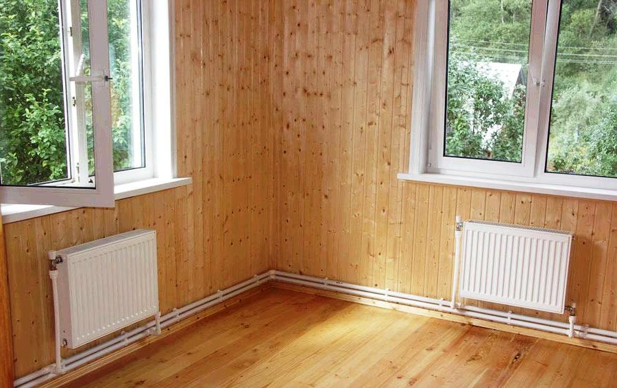 Отопление дачного дома