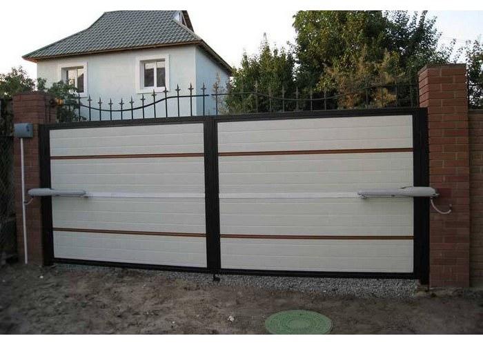 Распашные ворота иваново автоматика для ворот раздвижные металличекие ворота