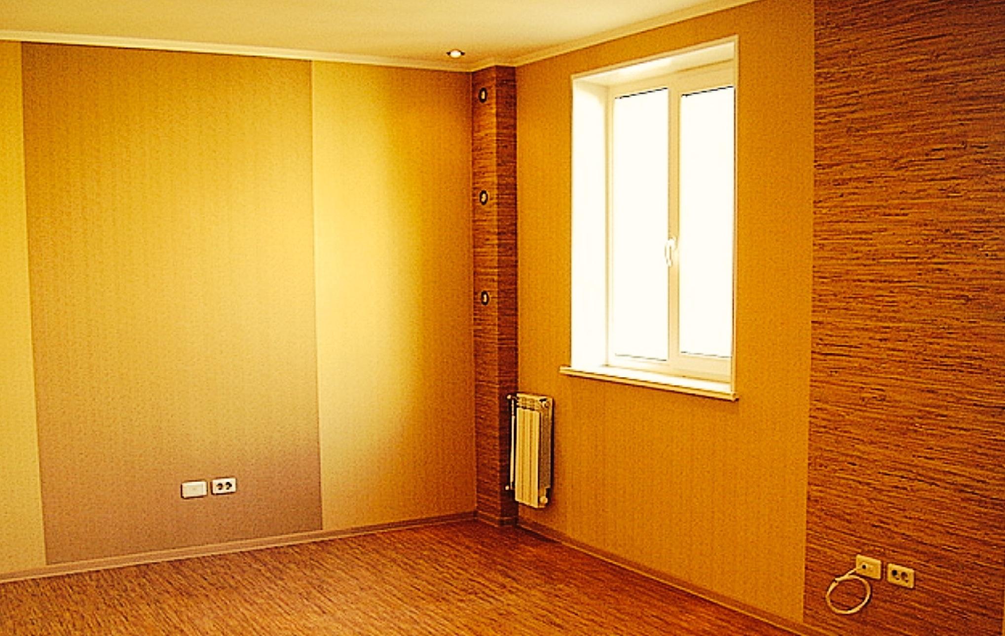 Ремонт в квартире стены