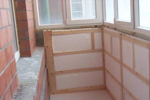 Пожаробезопасные материалы для утепления балкона.