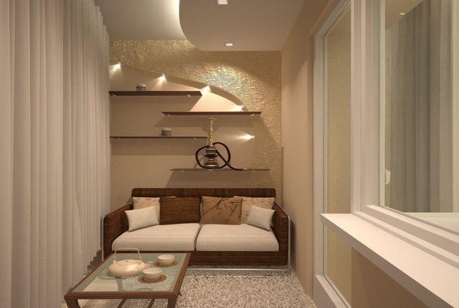 Дизайн квартиры неправильной формы