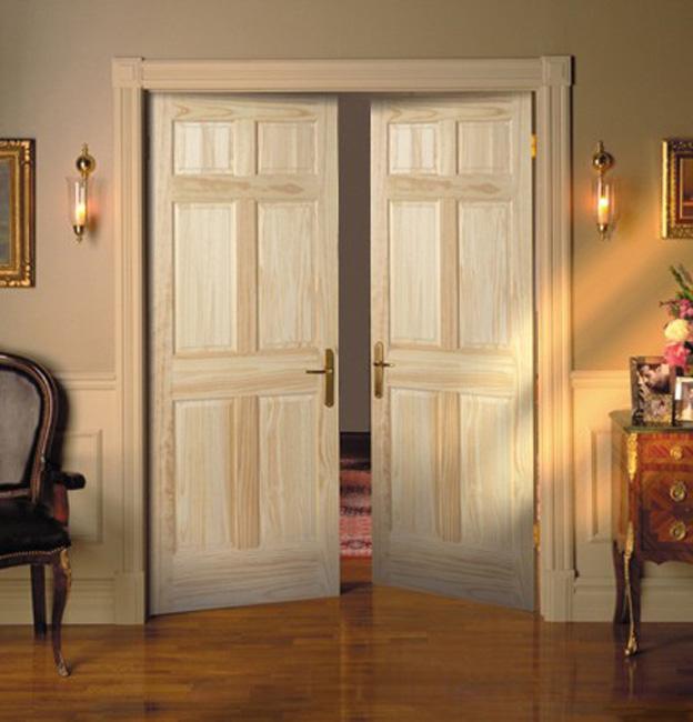 Распашные двери своими руками