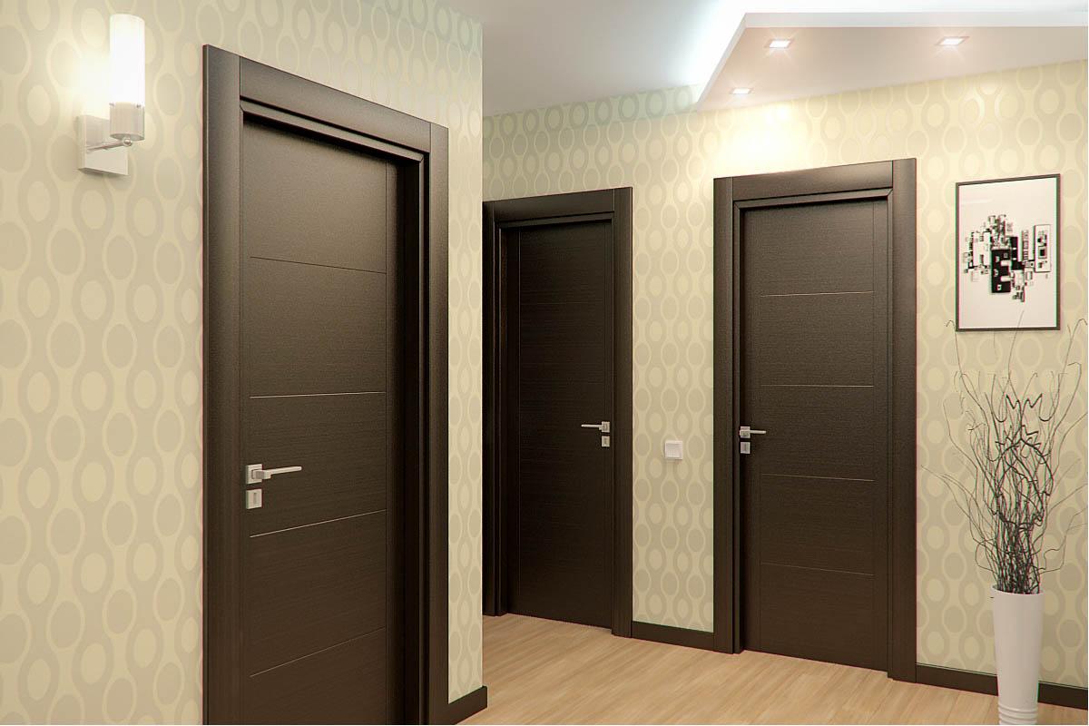 Межкомнатные двери дизайн квартир