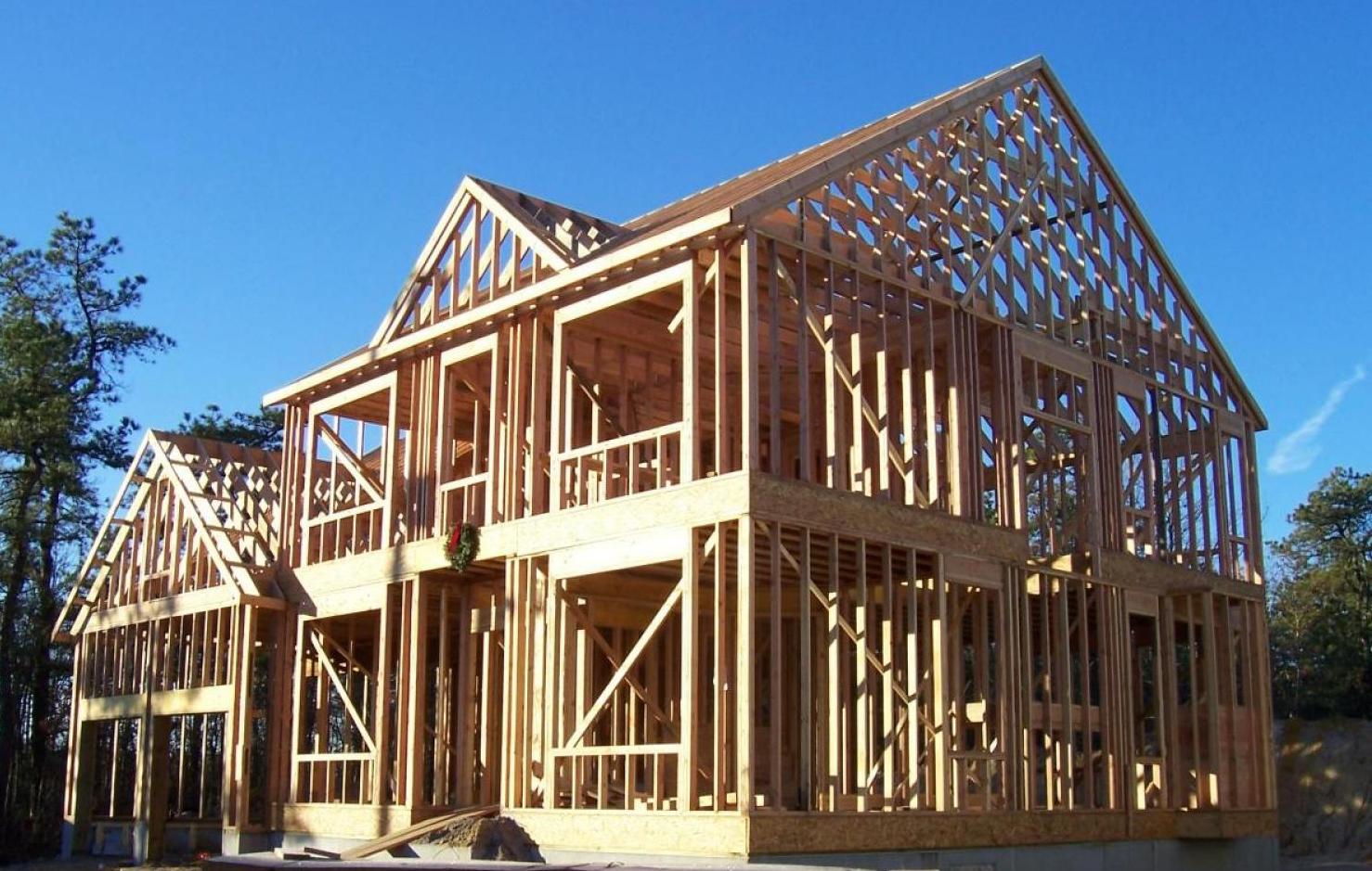Каркасные дома фото строительство