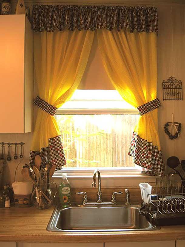 Дизайн штор кухня своими руками
