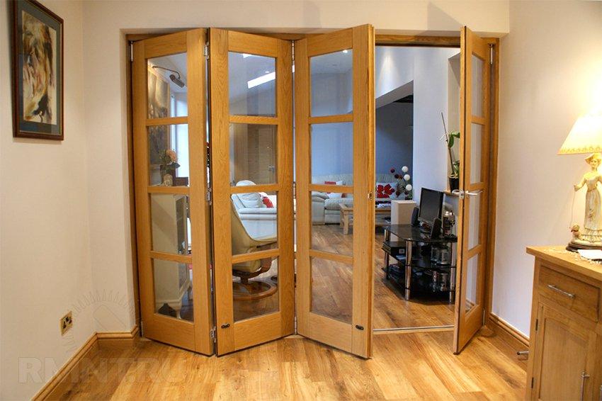 Складная дверь Простота в использовании