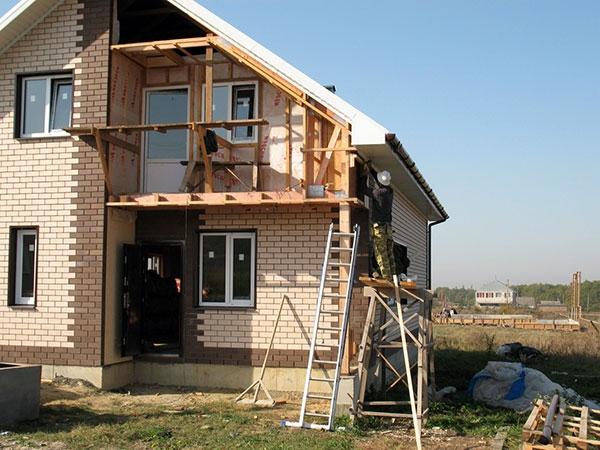 Строительство своими руками загородного дома