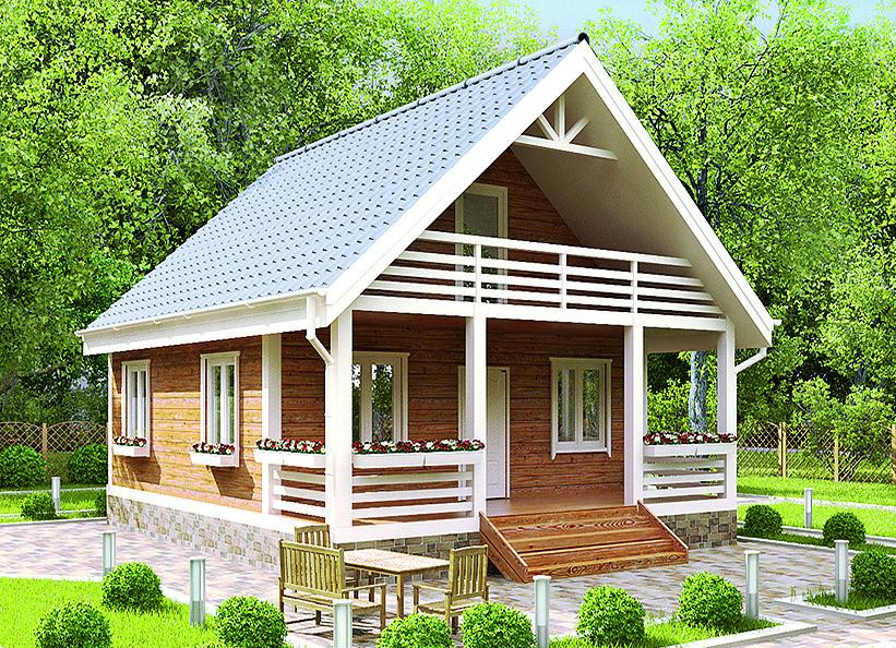 Каркасный домик цена