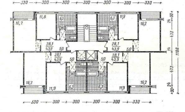 Дизайн проект панельных домов