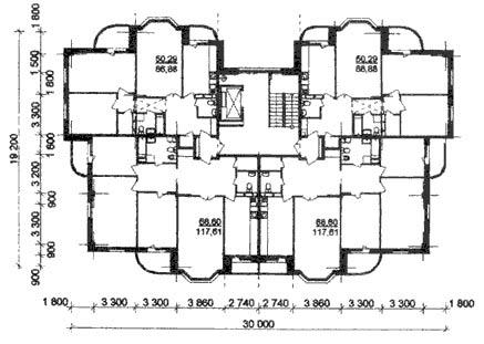 Какой обязана быть высота потолков в доме