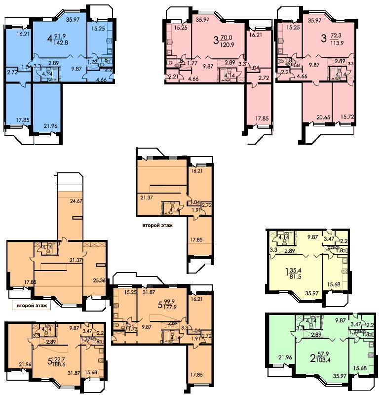 Ремонт квартир в домах серии П-3, перепланировка квартир