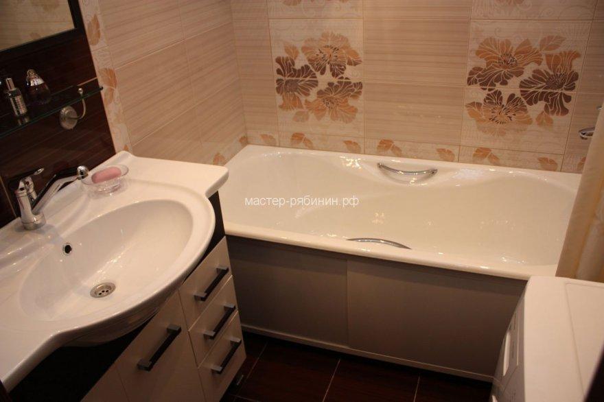 Ремонт туалета и ванны дизайн