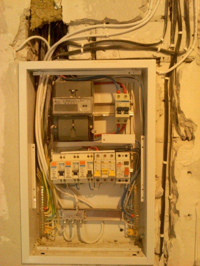 Монтаж электрощитка в доме своими руками