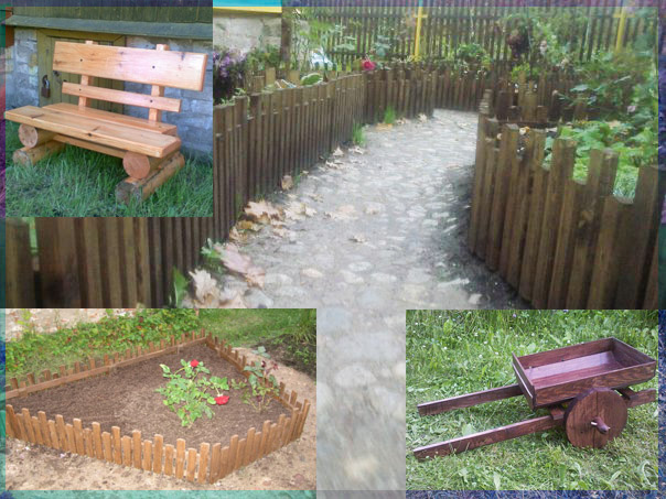 Изделия для сада и полезные мелочи.