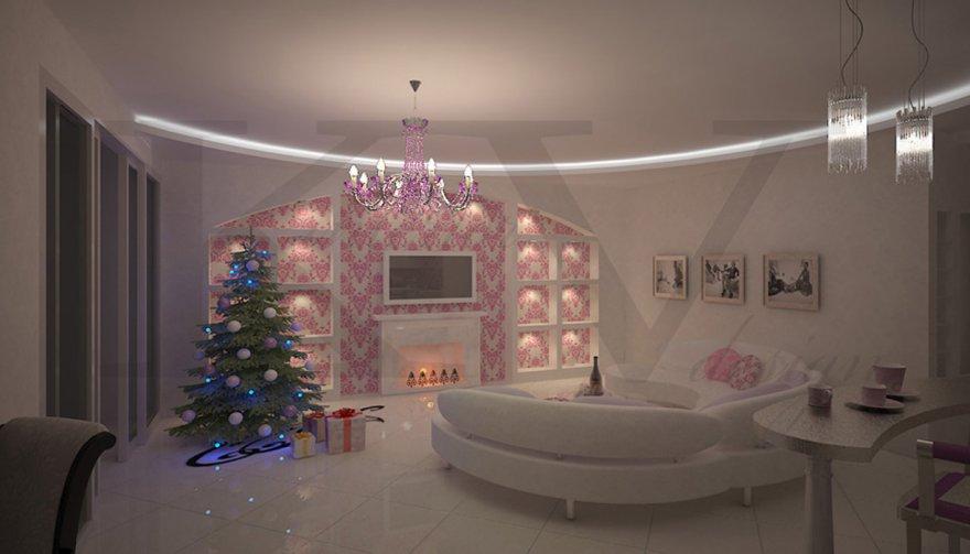 фото дизайнов з х комнатных квартир #12