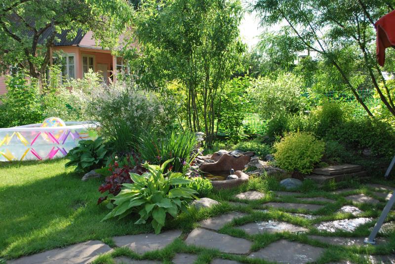 Садовый ландшафт своими руками фото на 6 сотках 52