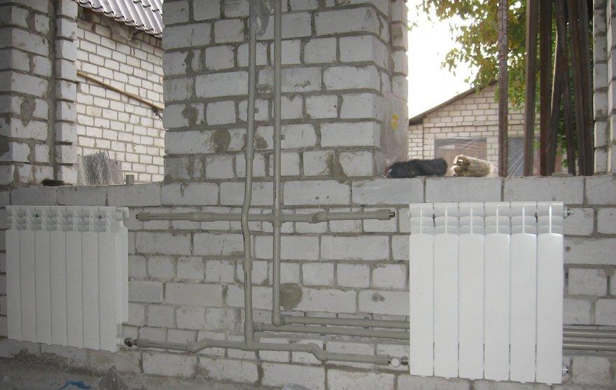 Проектирование и монтаж системы отопления частного дома или коттеджа (06.01.2010) .