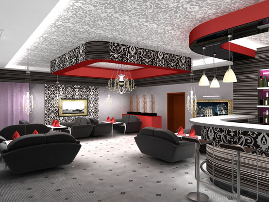 Дизайн интерьера баров фото