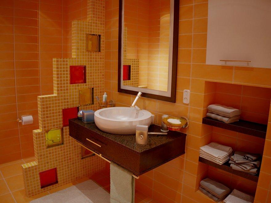 Ванна комната дизайн перегородки