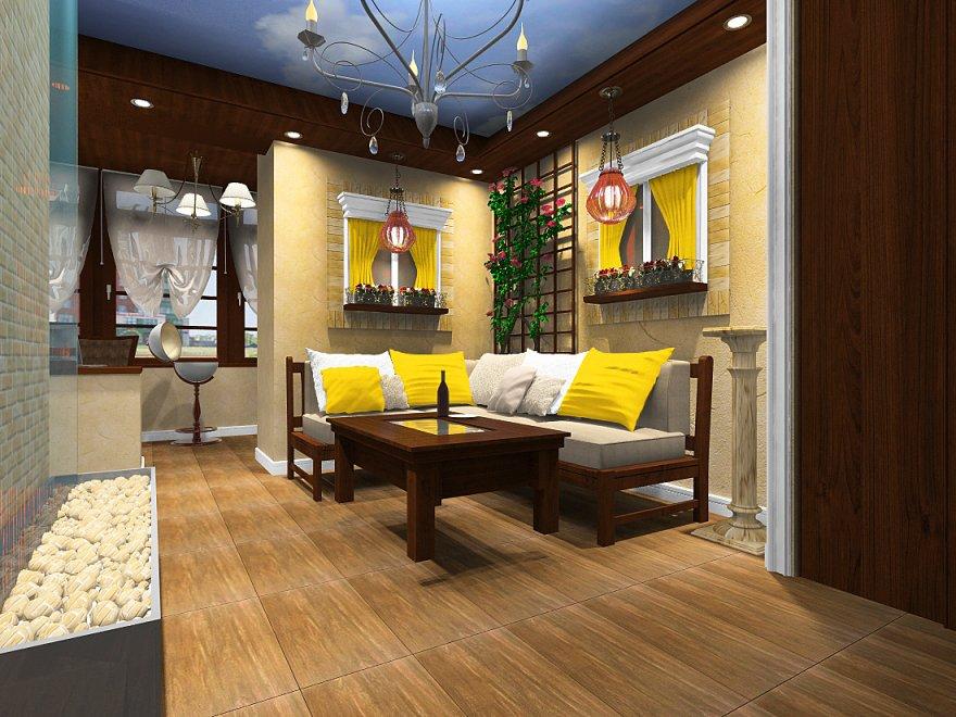 Дизайн квартиры на Тополиной аллее, Риэлт Стройком.